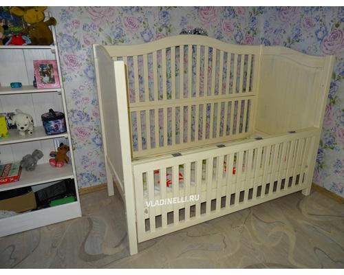"""Односпальная кровать """"Мираслава"""" для ребенка инвалида"""